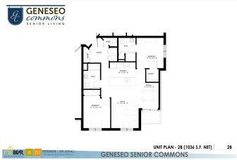 2 bedroom apartment, senior apartments in kenosha, geneseo commons