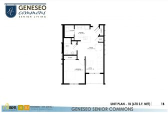 1 bedroom apartment, senior living apartments in kenosha, geneseo commons