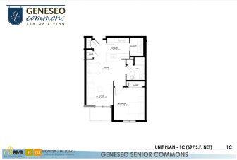 1 bedroom apartment, geneseo commons, apartments in kenosha