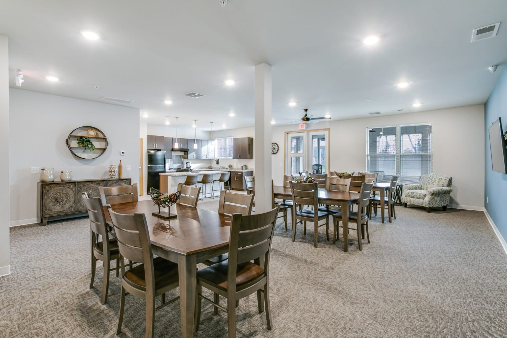 two bedroom apartments in geneseo, two bedroom senior apartments in geneseo, geneseo commons